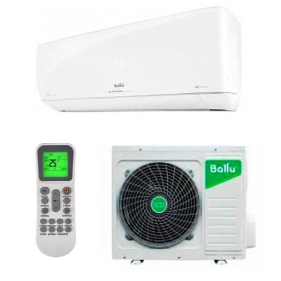Кондиционер сплит-система Ballu Platinum Evolution DC Inverter R-32 WIFI BSUI-09HN8