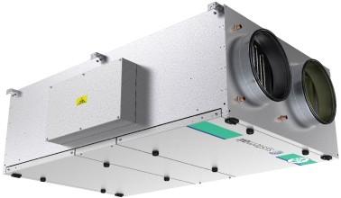 Приточно-вытяжная установка Systemair Topvex FR08 HWH-R-CAV