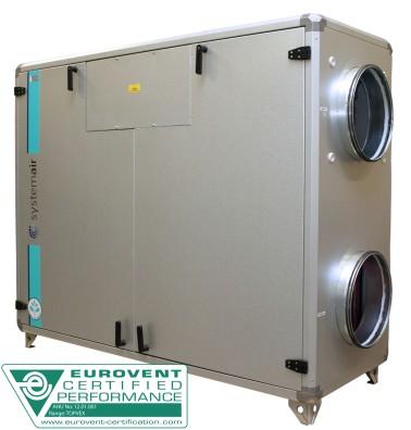 Приточно-вытяжная установка Systemair Topvex SC04 HW-R-VAV