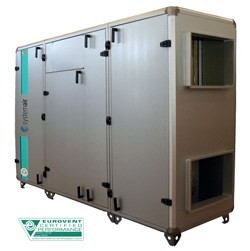Приточно-вытяжная установка Systemair Topvex SC08 HW-R-CAV