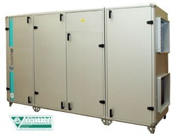 Приточно-вытяжная установка Systemair Topvex SC11 HW-L-VAV