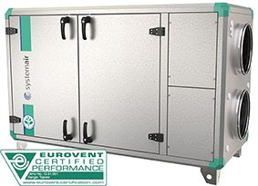 Приточно-вытяжная установка Systemair Topvex SR04 HWL-L-CAV
