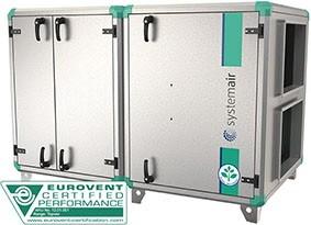 Приточно-вытяжная установка Systemair Topvex SR09 HWL-L-CAV