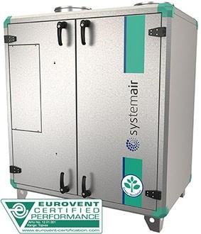 Приточно-вытяжная установка Systemair Topvex TR03 HWH-L-CAV