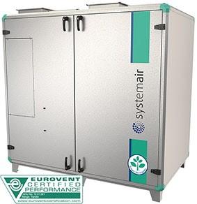 Приточно-вытяжная установка Systemair Topvex TR15 HWL-L-CAV