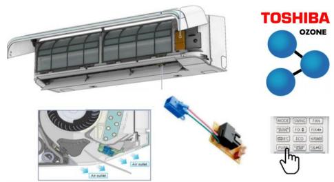 Кондиционер сплит-система Toshiba Shorai RAS-B10J2KVRG/RAS-10J2AVRG 5