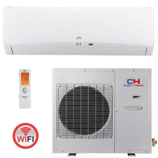 Кондиционер сплит-система Cooper&Hunter Icy ІІ CH-S24FTXTB2S-W Wi-Fi