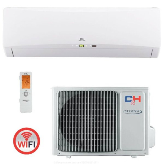 Кондиционер сплит-система Cooper&Hunter Icy ІІ CH-S09FTXTB2S-W Wi-Fi