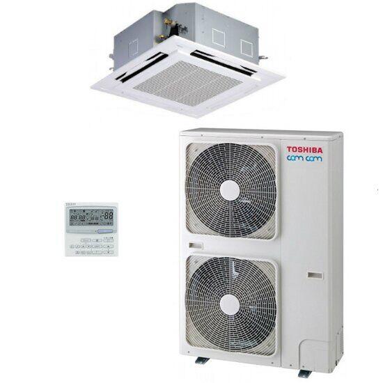 Кассетный кондиционер Toshiba Invertor Super Digital RAV-SM14*UT(P)-E/RAV-SP14*AT8(P)-E/RBC-U31PG(P)-E/RBC-AMS41E
