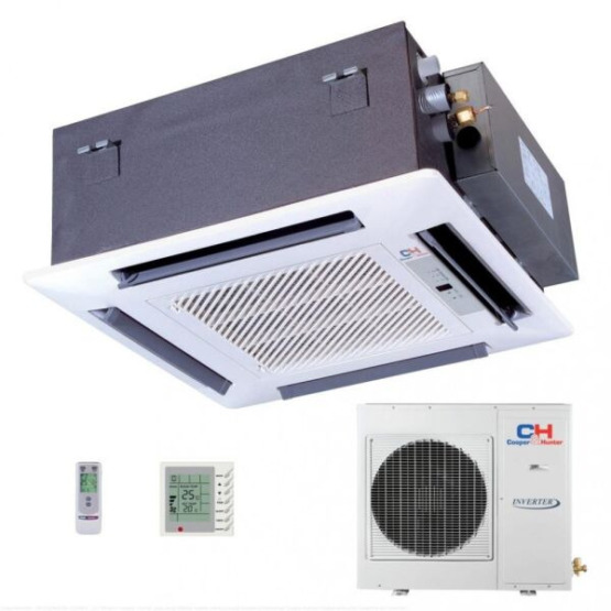 Касссетный кондиционер сплит-система Cooper&Hunter CH-IC12NK4/CH-IU12NK4