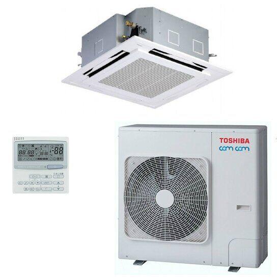 Кассетный кондиционер Toshiba Invertor Super Digital RAV- SM80*UT(P)-E/RAV-SP80*AT(P)-E/RBC-U31PG(P)-E/RBC-AMS41E