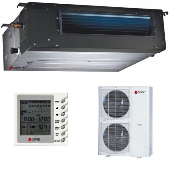Канальный кондиционер сплит-система Sensei TW SDX-36TW/SX-36TW