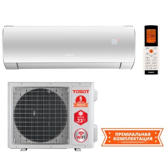 Кондиционер сплит-система Tosot LYRA Winter Inverter GF-24W